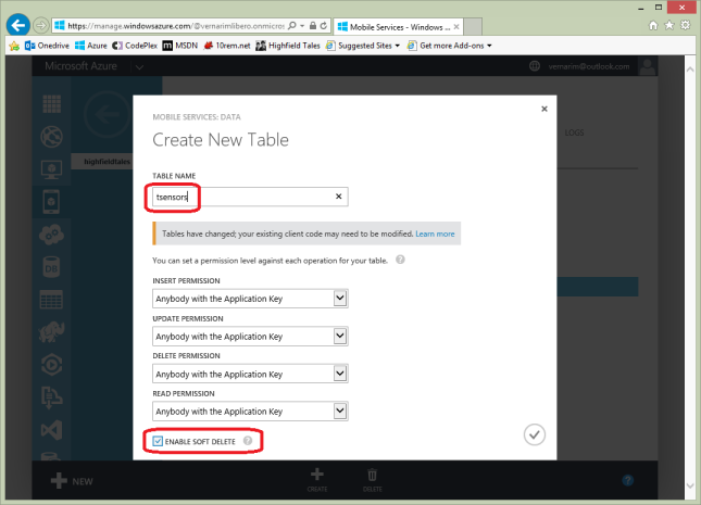 azure-mobile-create-table
